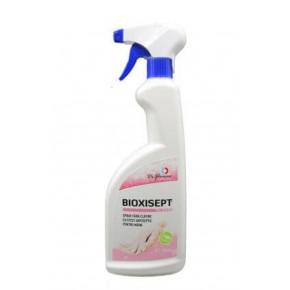 Bioxisept spray dezinfectant pentru maini, fara clatire, cu efect antiseptic, 750ml