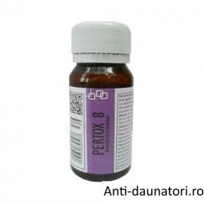 Substanta concentrata de culoare galbuie, anti viespi, albine, bondari ce acopera ~ 70 mp - Pertox 8 - 50 ml