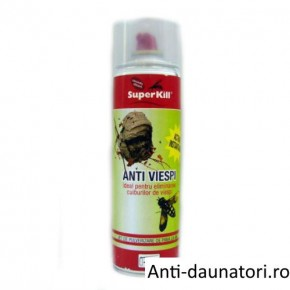 Spray SUPERKILL anti viespi, albine, bondari 500 ml