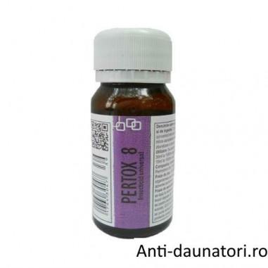 Substanta concentrata, anti paianjeni ce acopera ~ 70 mp - Pertox 8 - 50 ml