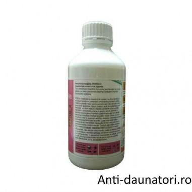 Insecticid concentrat emulsionabil, de culoare galbuie, contra puricilor ce acopera ~ 1400 mp - Pertox 8 1L