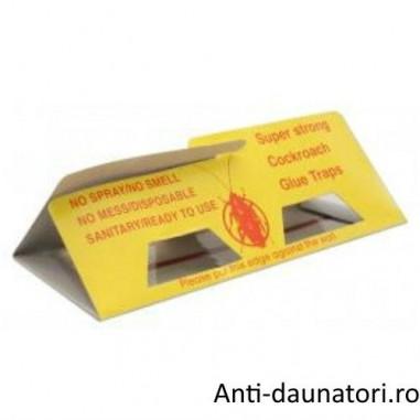 Capcana atractanta pentru gandacii de bucatarie fara insecticid 5 TRAPS