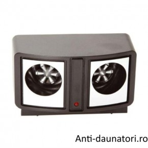 Dual Pest Repeller aparat ultrasunete anti soareci, sobolani 200 mp