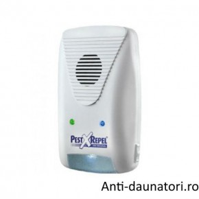 Aparat cu ultrasunete impotriva sobolanilor, gandacilor, paianjenilor si liliecilor 2 in 1 Pest Repeller PR500.2 160 mp
