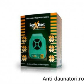 Aparat ultrasunete anti rozatoare, anti animale salbatice Pest Repeller 220.6 360 mp