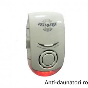 Pest Control Repeller ZN 1002 - Aparat pentru alungarea rozatoarelor si insectelor 150 mp