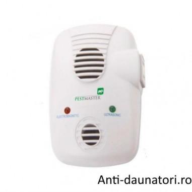 Pest Control EMG 3in1 - Aparat silentios, ecologic, non-toxic ce indeparteaza rapid soarecii, sobolanii si insectele taratoare 200 mp