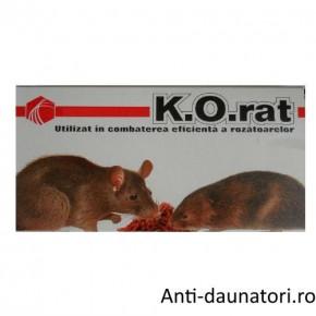 Otrava sobolani sub forma de grau  K.O. rat 375 gr