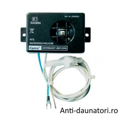 Dispozitivul auto Kemo M100N ce emite ultrasunete agresive, tinand la distanta jderii si rozatoarele