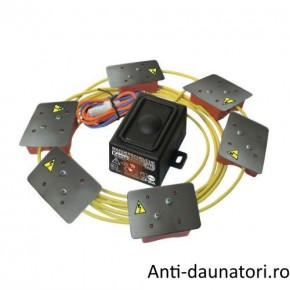 Dispozitivul Marder Schutz M176 cu placi de inalta tensiune, impermeabil anti jderi