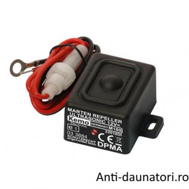 Marten Repeller Ultrasonic12V, aparat cu ultrasunete impermeabil ce indeparteaza jderii de sub capota masinii M180
