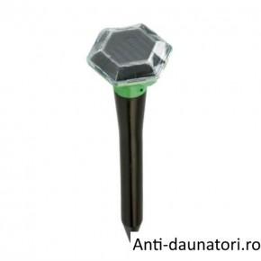 Solar Diamond Repeller aparat ce alunga cartitele prin emiterea vibratiilor in sol, fara chimicale, fara poluarea mediului 700 mp