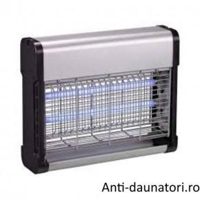Aparat cu lumina UV anti insecte (muste tantari, fluturi, molii) pentru suprafete de 120 mp - IK12