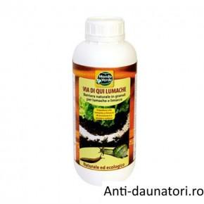 Granule impotriva melcilor si limacsilor (melci fara cochilie) REP46/1000 ml
