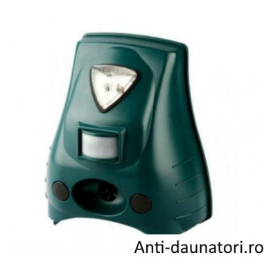 Anti caini, pisici aparat cu ultrasunete si lampa flash REP20 - 40 mp