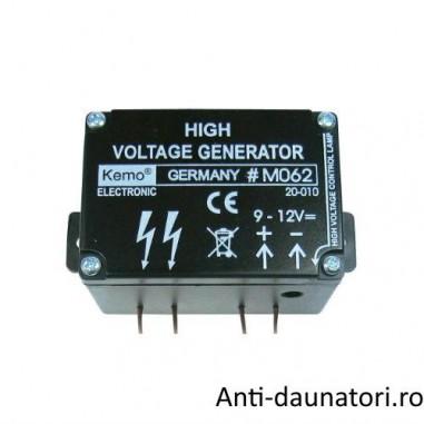 Mini generator de inalta tensiune ideal pentru gardurile electrificate M062