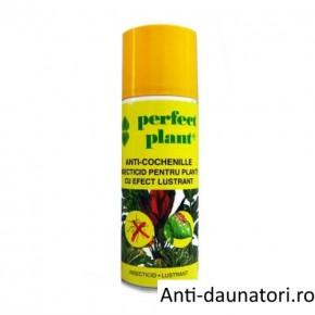 Insecticid spray cu efect lustrant pentru plante 200 ml