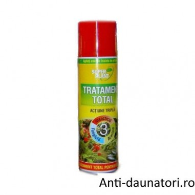 Spray plante cu actiune tripla tratament total 250 ml