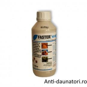 Insecticid piretroid pentru combaterea daunatorilor din plante Faster 10 ce 100 ml