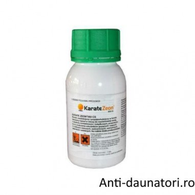 Insecticid ce combate un numar mare de insecte Karate Zeon 100 ml