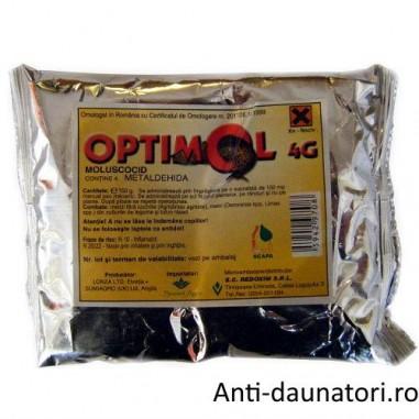 Moluscocid selectiv sub forma de granule Optimol 4 g 300 gr.
