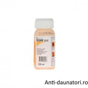 Insecticid impotriva daunatorilor rezistenti din culturile agricole Reldan 22 ec 200 ml
