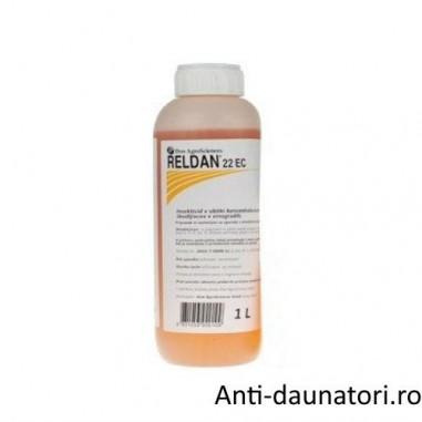 Insecticid impotriva daunatorilor rezistenti din culturile agricole Reldan 22 ec 1l
