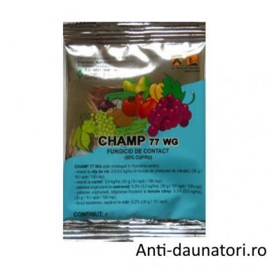 Fungicid de contact pentru combaterea manei Champ 77 wg 1kg