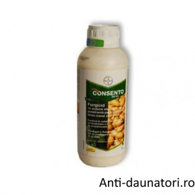 Fungicid sistemic Consento 450 sc 1L