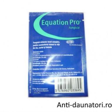 Fungicid sistemic pentru combaterea manei la legume Equation Pro 40 gr.
