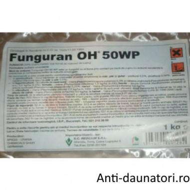 Fungicid de contact pentru combaterea manei si arsurilor Funguran oh 50 wp 1kg