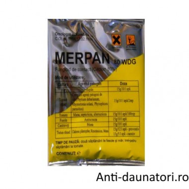 Fungicid cu actiune multi-site Merpan 80 wdg 150 gr.