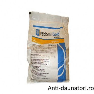 Fungicid sistemic si de contact Ridomil Gold mz 68 wg 1kg