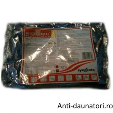 Fungicid sistemic si de contact pentru combaterea manei Ridomil Gold Plus 42.5 wp 1kg