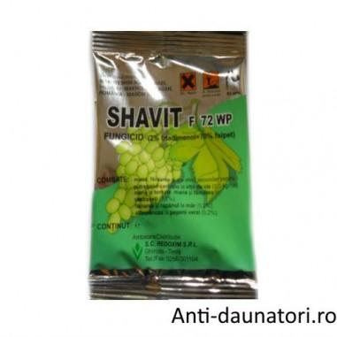 Fungicid sistemic si de contact impotriva bolilor ce ataca culturile horticole Shavit f 72 wp  1kg