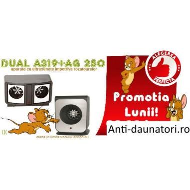 SUPER OFERTA!!! Dual Pest Repeller + Pest Ag 250 impotriva soarecilor si sobolanilor