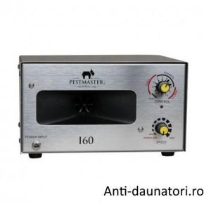 Aparat cu ultrasunete impotriva pasarilor - Pestmaster I60 660 mp