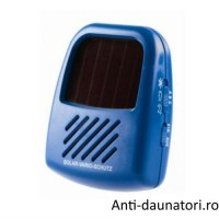 Solar Vario Schutz - Aparat portabil cu incarcare solara anti insecte cu frecventa reglabila 25 mp