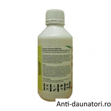 Insecticid universal destinat profilaxiei sanitar umane pentru muste 1000 mp - Insektum 1L