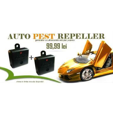 Protectie auto contra jderilor si soarecilor cu Auto Pest Repeller