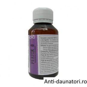 Solutie concentrata emulsionabila de culoare galbuie, impotriva tantarilor ce acopera ~ 140 mp - Pertox 8 - 100 ml