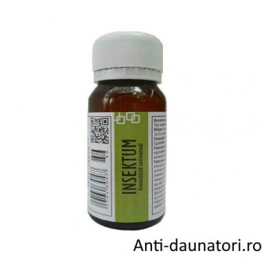 Substanta universala impotriva moliilor destinata profilaxiei sanitare umane 50 mp - Insektum 50 ml