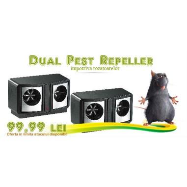 SUPER OFERTA!!! Ultrasonic Pest Repeller impotriva soarecilor si sobolanilor